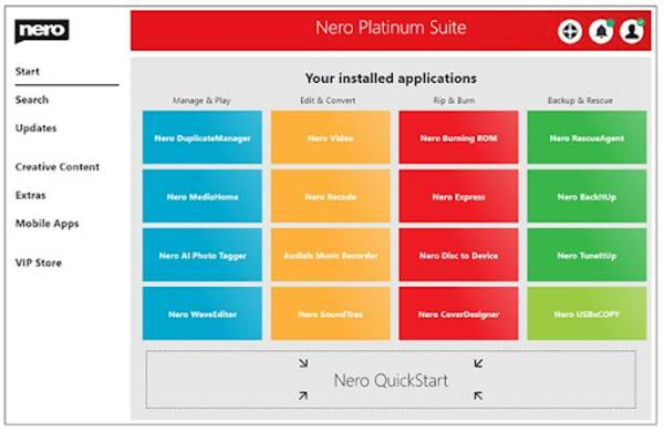 Nero Platinum 2021 Suite